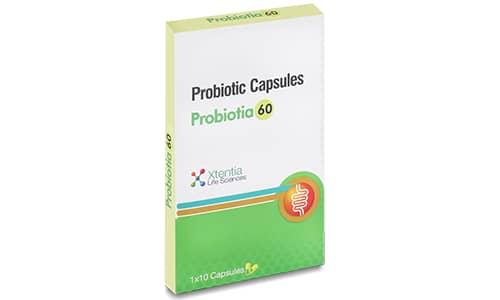 Probiotic Capsules Probiotia 60